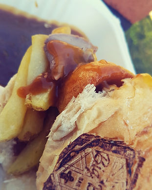 The Big Butty Bar Sunday Roast Chip Butty