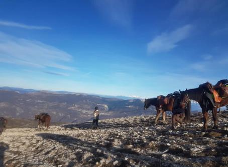 COMPLET Du 28 décembre au 2 janvier : Randonnée itinérante entre Lubéron et crêtes de Lure