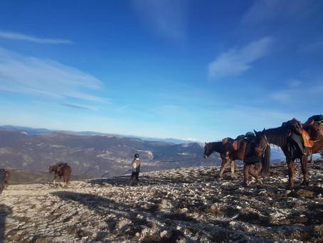 Du 27 au 29 Octobre-Randonnée itinérante Crêtes de Lure