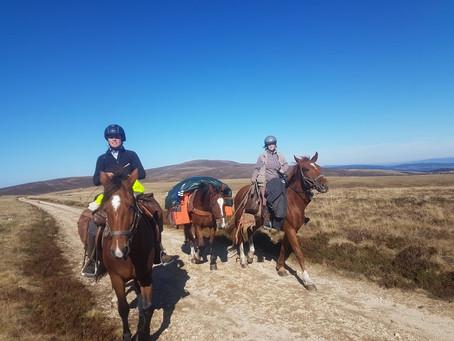 Du 10 au 18 juillet : Voyage avec chevaux de bât