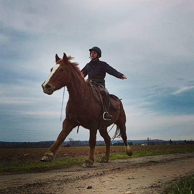 Un vrai cheval de randonnee c'est ca!_#c