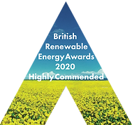 REA Awards Logo 2020 - highly commended.