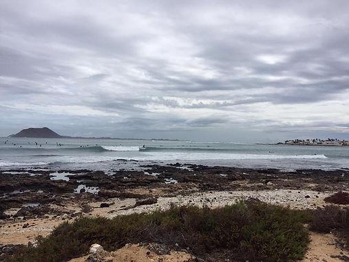Waikiki surf spot corralejo fuerteventur