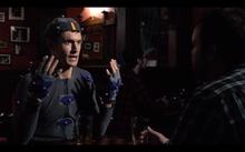 """A mo-cap man walks into a bar..."" screenshot"