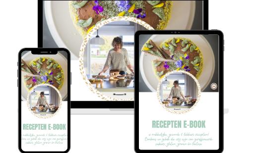 Recepten E-book - 10 makkelijke & simpele recepten voor gezonde lekkernijen