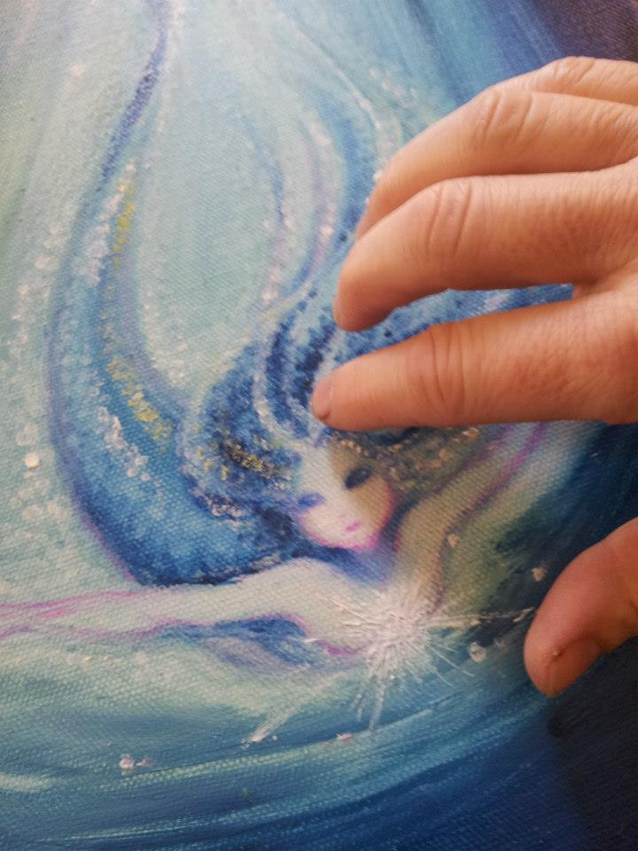 Painting a Mermaid