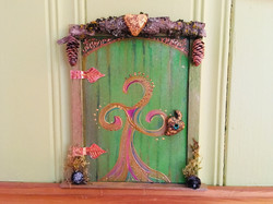 Faerie Door - Fairy of the Woods