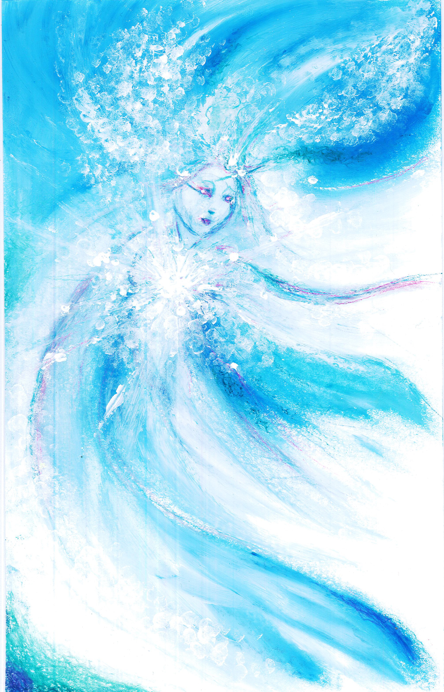 Guardian Fairy of Snow