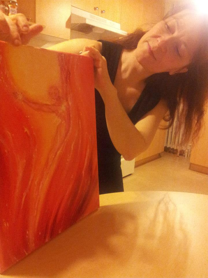 Guardian Spirit of Fire in progress.
