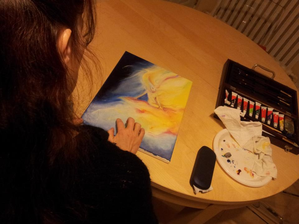Painting a Spirit of Light