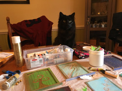 My furry assistant & supervisor...