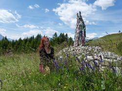Monica Canducci - Visit to the Shamanic Altar - Ovaa, Vetan