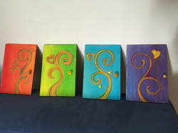 Fairy Doors to the Four Elements