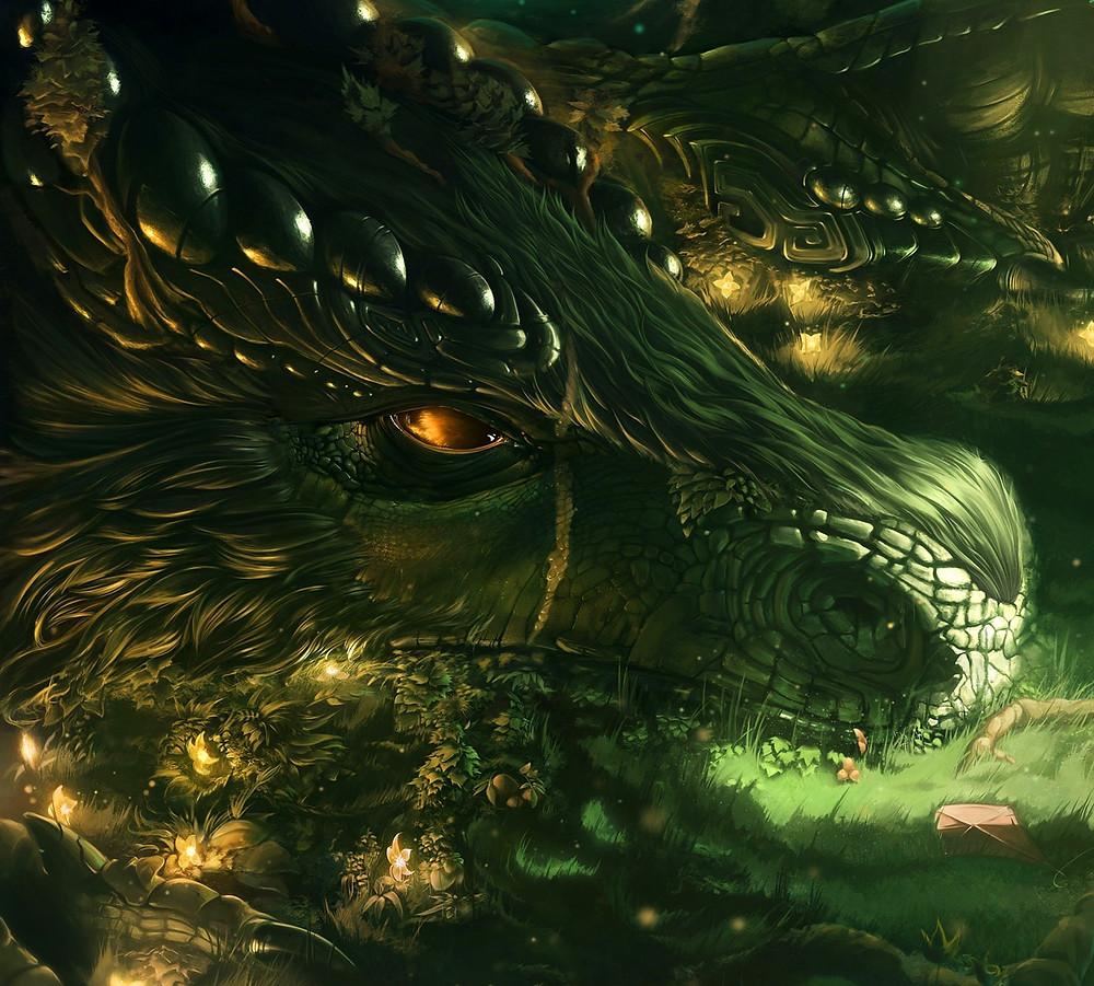 Green Earth Dragon