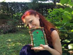 Monica Canducci & a Fairy Door