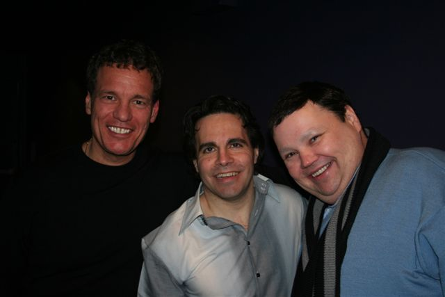 Mario Cantone and John Pinette
