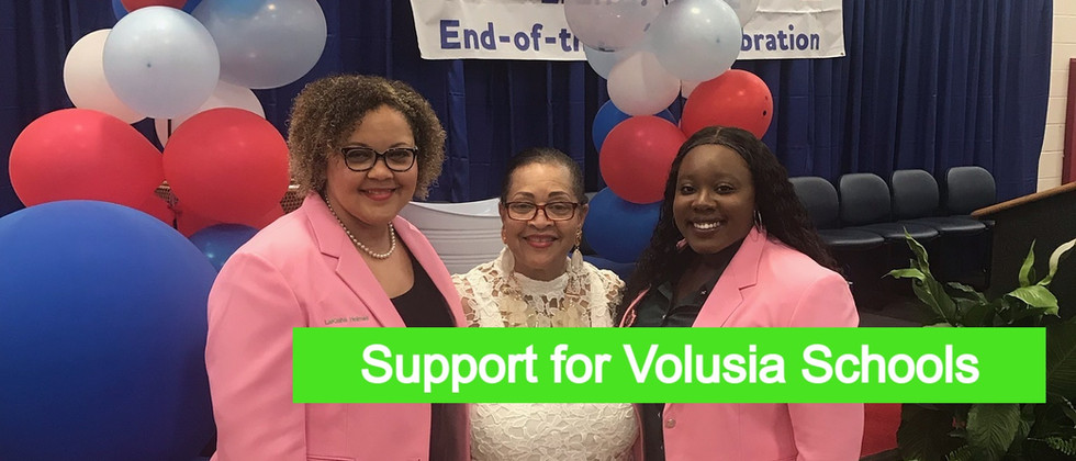 Support for Volusia Schools