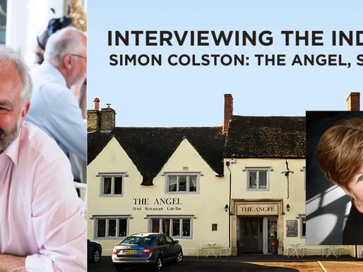 Simon speaks to the press