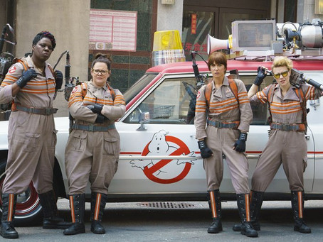 Who ya gonna call? Girl power transcends Hollywood into politics