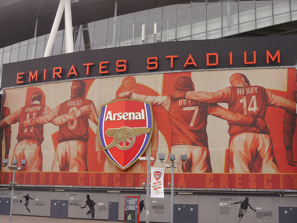 Arsenal's Emirates Stadium in London