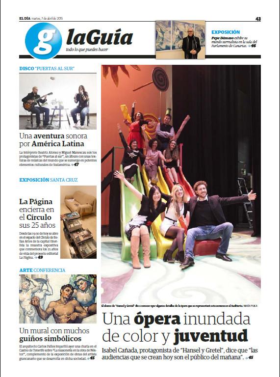 Prensa Hansel y Gretel Tenerife periodic