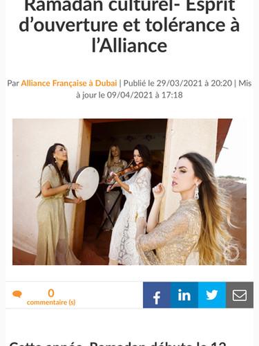 Le petit journal - Sonore Al-Andalus