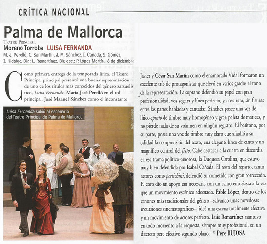 Critica Opera Actual Enero - Febrero 201