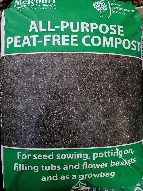 Melcourt Multi-purpose Peat Free Compost 50 litre
