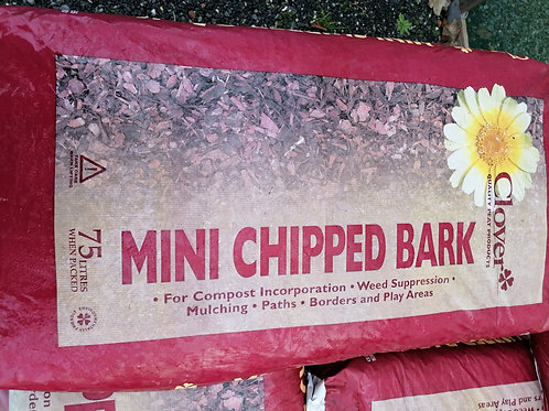 Mini Bark chips x 2 bags