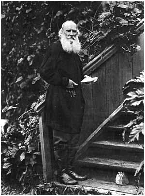 L. N. Tolstoy. Kochety, 1910