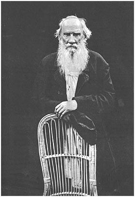 L. N. Tolstoy. Iasnaia Poliana. 1908