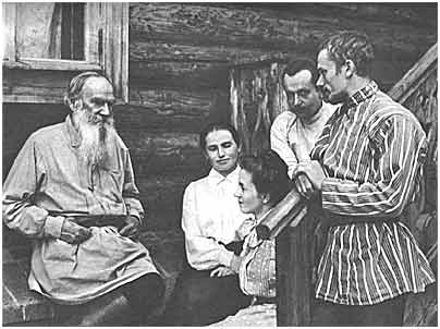 L. N. Tolstoy and A. B. Goldenweiser
