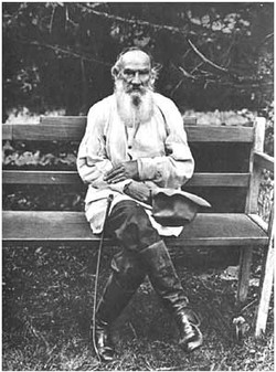 L. N. Tolstoy on his 75th birthday