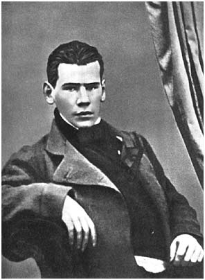 L.N. Tolstoy as a student,1849