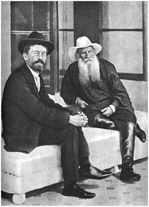 L. N. Tolstoy and A. P. Chekhov