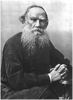 L.N. Tolstoy. Moscow, 1896
