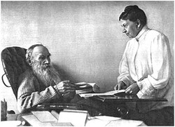 L. N. Tolstoy and S. A. Tolstaia
