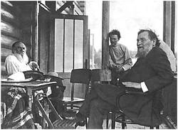 L. N. Tolstoy and I. I. Mechnikov