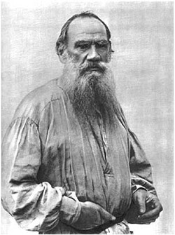 L.N. Tolstoy. Moscow, 1892