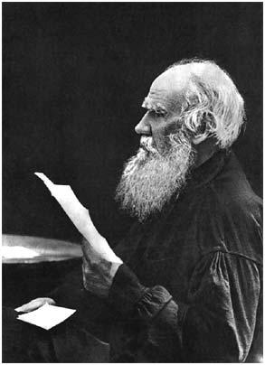 L. N. Tolstoy. 1910