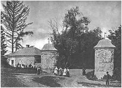 Iasnaia Poliana, estate entrance