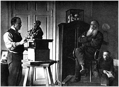 L. N. Tolstoy, Iasnaia Poliana, 1899