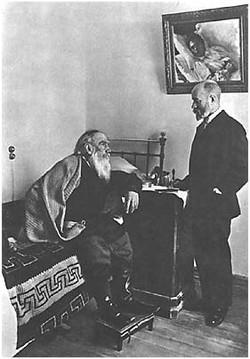 L.N. Tolstoy and Dr. D.P. Makovitsky