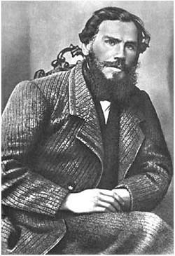 L.N. Tolstoy. Iasnaia Poliana, 1862