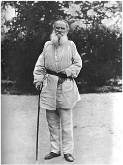 L. N. Tolstoy. Iasnaia Poliana, 1896