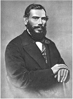 L.N. Tolstoy. Moscow, 1862