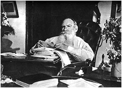 L. N. Tolstoy on his 80th birthday