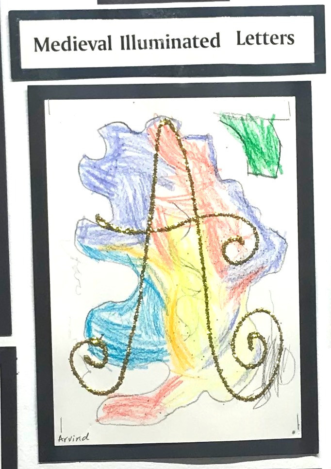 A is for alphabet, Arvind, and amazing. We are in AWE of each letter!