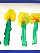 A daffodil garden blooms ardently.