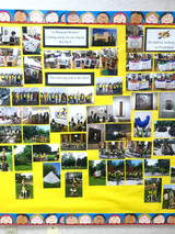 The Kindergarten Learning Cottage's montage of the National Gallery of Art visit! In other words, an exhibit of an exhibit of an exhibit. . . We still dream of seeing the masterpieces that inspired our own throughout the course of our studies.